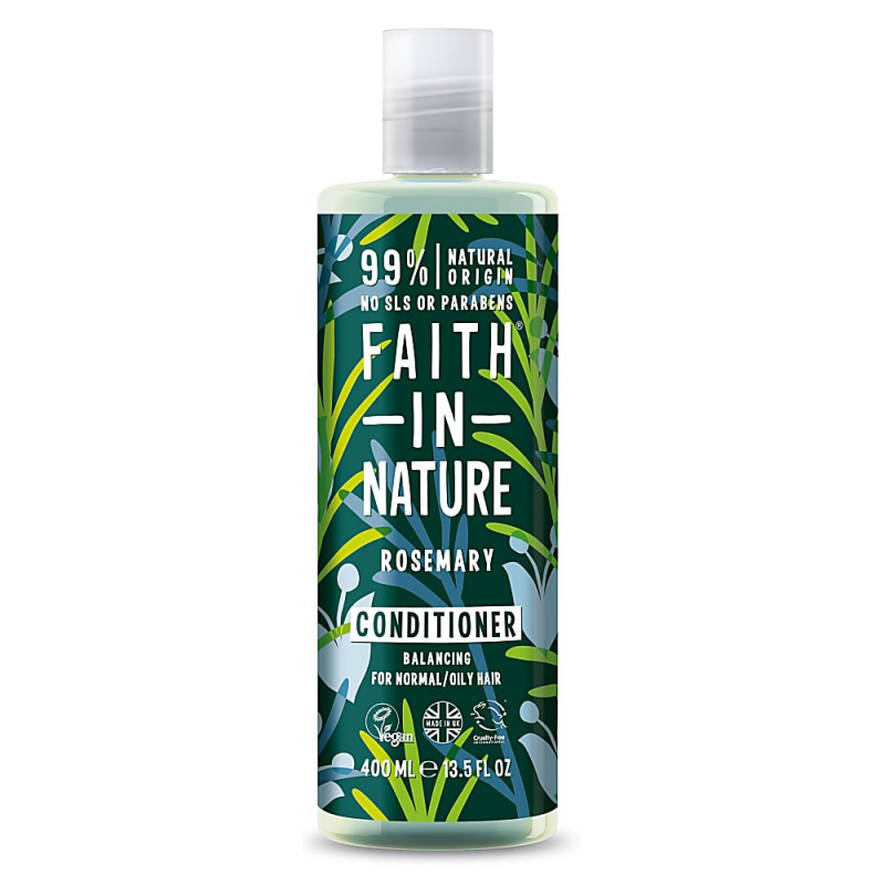 Kondicionierius su rozmarinais, Faith in Nature, 400 ml