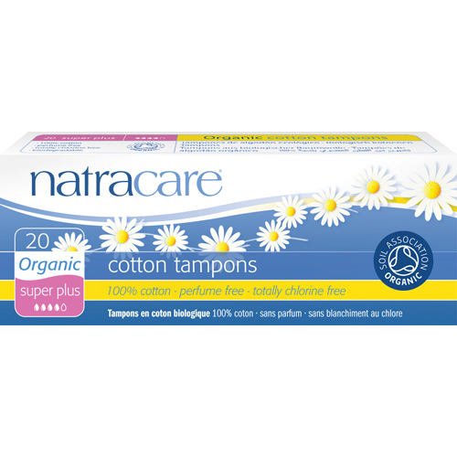 Tamponai Super Plus NATRACARE, 20 vnt.