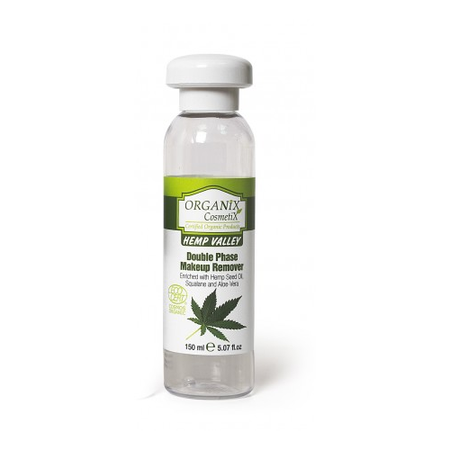 Dvifazis makiažo valiklis, Hemp Valley Organix Cosmetix , 150 ml