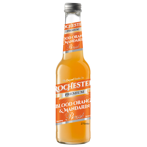 Rochester Premium Blood Orange & Mandarin gazuotas gėrimas 275 ml