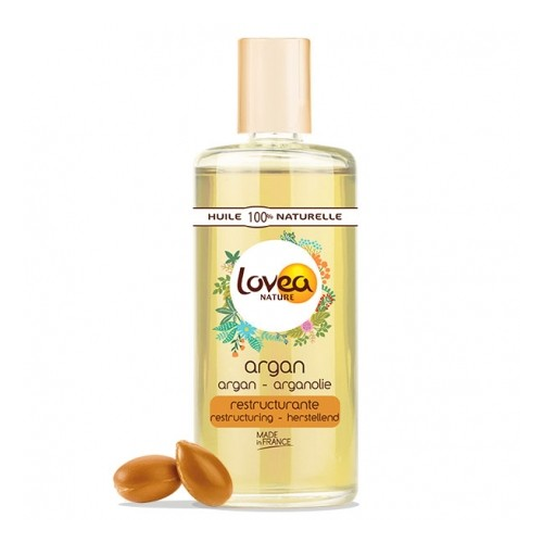 100% tyras arganų aliejus, Lovea Nature, 50ml