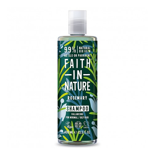 Šampūnas su rozmarinais Faith in Nature, 400 ml