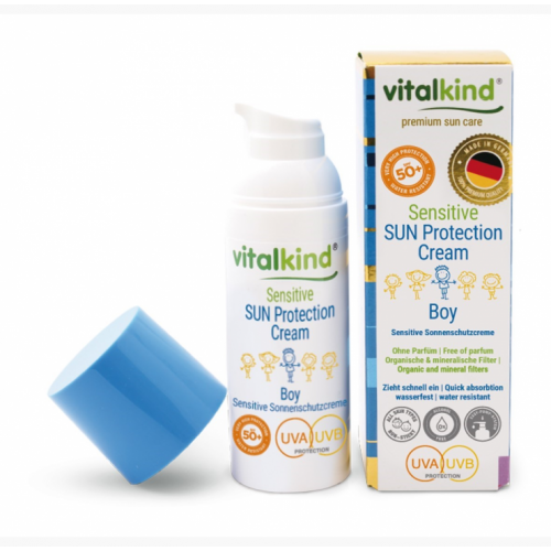 Antibakterinis rankų gelis, Vitalkind, 40ml