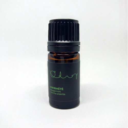 "Eterinis aliejus ""Pipirmėtė"" (Peppermint), Odrop, 5ml"