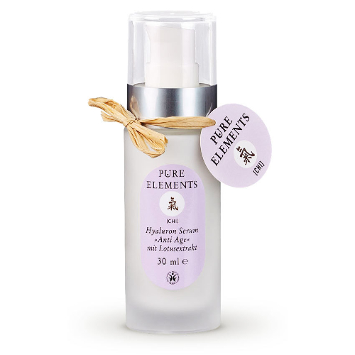 Anti-age serumas veidui su hialurono rūgštimi, Pure Elements, 30 ml